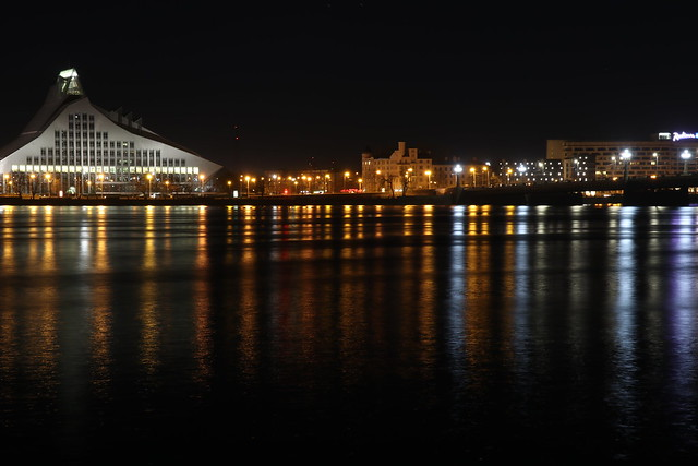 Nighttime on the River