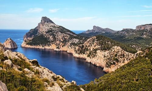 View from Mirador Es Colomer, Mallorca