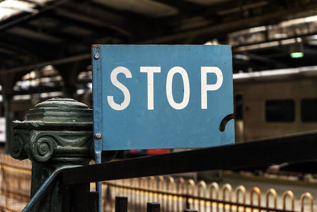 Train Control Sign