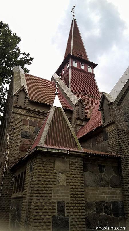 Храм Казанской Иконы Божьей Матери (кирха), Янтарный