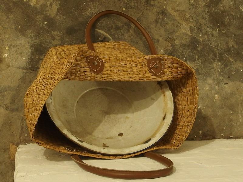 Found Basket Face