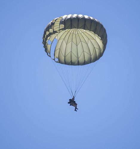 World War 2 US Paratrooper