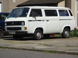 1984 Volkswagen Transporter Camper Van