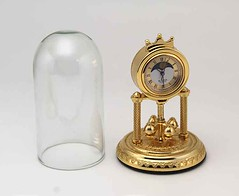 Bulova Miniature Sentinel Clock B0541 Solid Brass