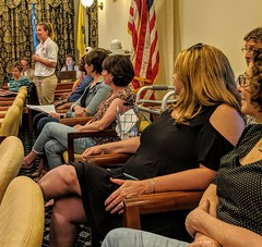 When Jamie Petry, the President of the Westminster Fire Engine and Hose Co. No. 1, speaks at the meeting of the Westminster Mayor and Common Council; everyone listens. She rules. (20May2019)