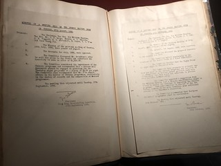 Minutes from 1935 meetings of the Hong Kong Broadcasting Committee