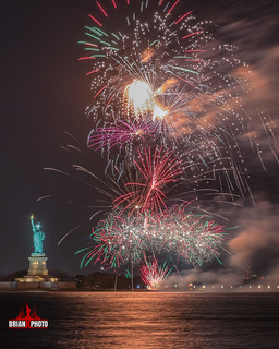 Statue Of Liberty Fireworks-1-5
