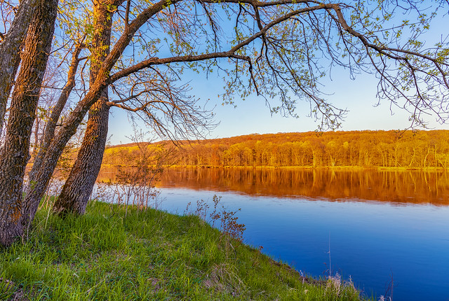Wild River State Park - Spring Sunset on the Saint Croix River