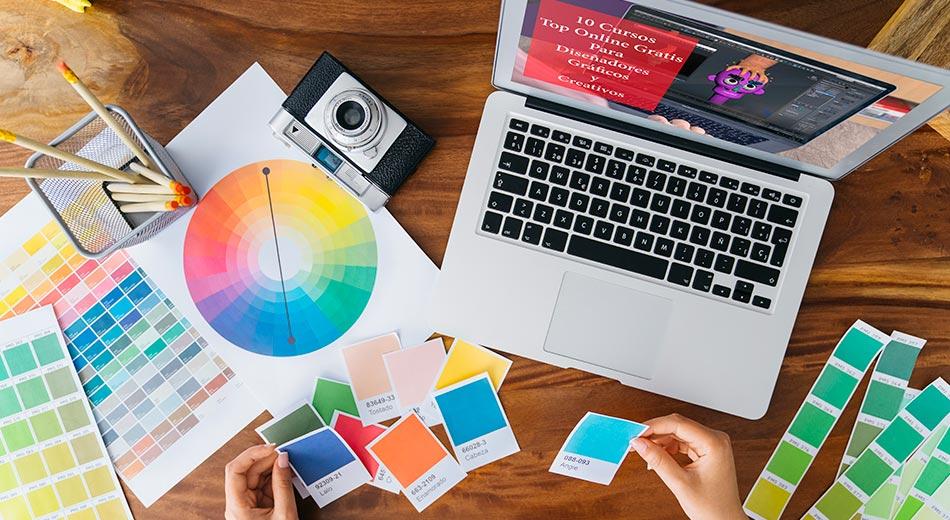 10 Cursos Top Online Gratis Para Diseñadores Gráficos y Creativos