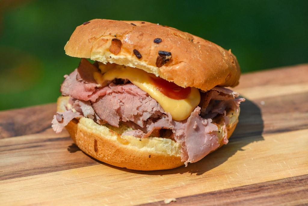 Beef & Cheddar Sandwiches