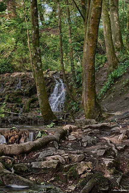 Monknash water fall
