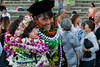 """The University of Hawaii at Manoa William S. Richardson School of Law celebrated at the school's graduation ceremony on May 12, 2019. Law graduates Kaitlyn Iwashita and Cheyne Yonemori after the Andrews Amphitheater Law graduation ceremony. (Photo credit: Mike Orbito) For more photos go to: <a href=""""https://www.flickr.com/photos/37424325@N08/sets/72157691433495983/"""">www.flickr.com/photos/37424325@N08/sets/72157691433495983/</a>"""
