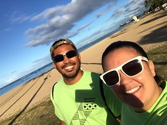 Hawaiian Electric at the 41st annual Visitor Industry Charity Walk — May 18, 2019: The route took our walkers through beautiful scenic points, such as the beach!