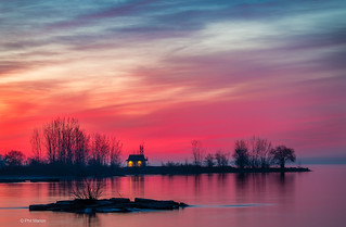 Before sunrise - Leuty Station and Kew Beach, Toronto | by Phil Marion (176 million views - THANKS)