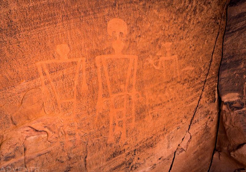 Basketmaker Petroglyphs