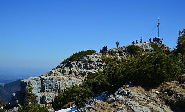 Rottach-Egern - Crowded Summit