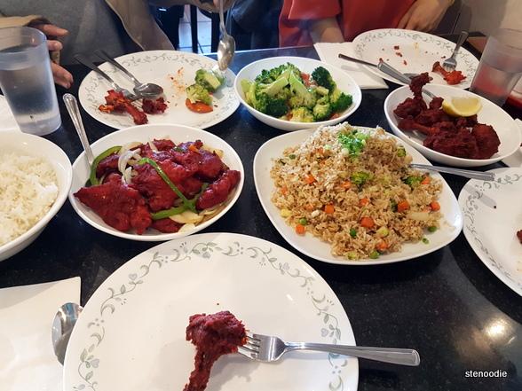 Kim Kim Indian Hakka Chinese Restaurant food