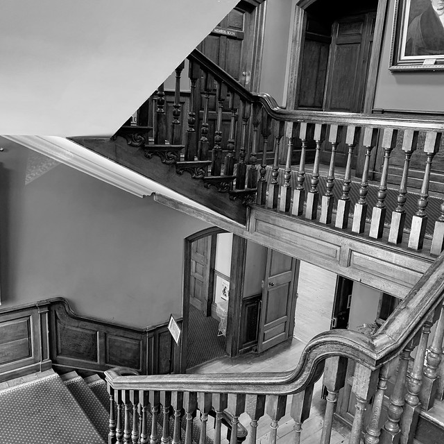 Stairs at the Guildhall