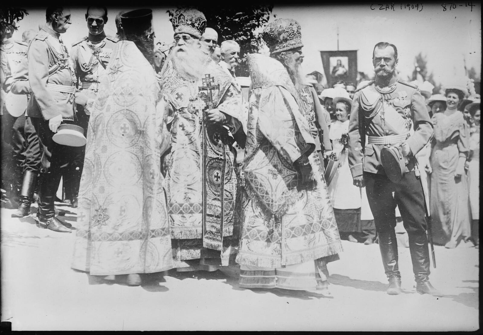 1909. Император Николай II в Полтаве, 27 июня