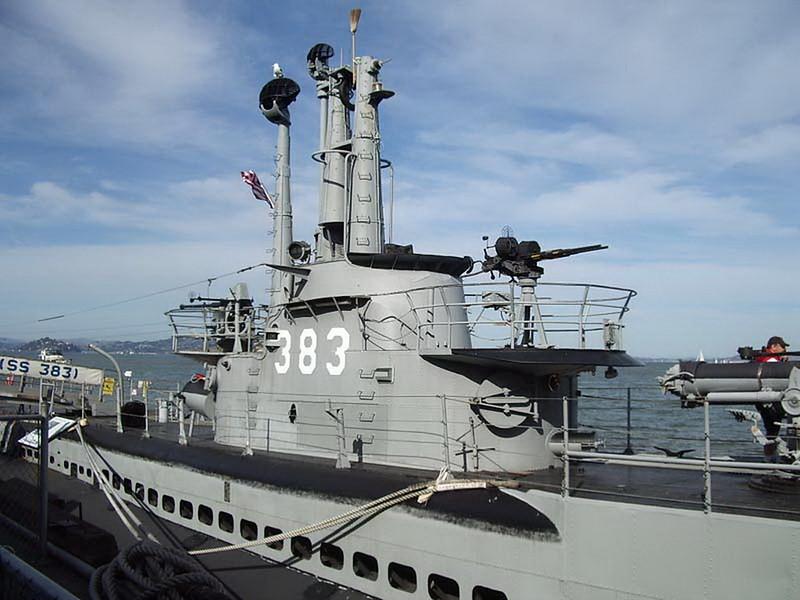 USS Pampanito SS-383 00010