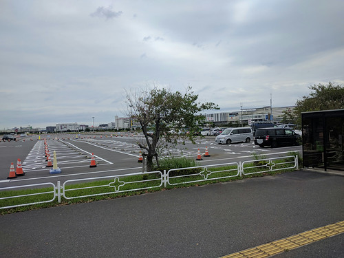 幕張メッセの駐車場