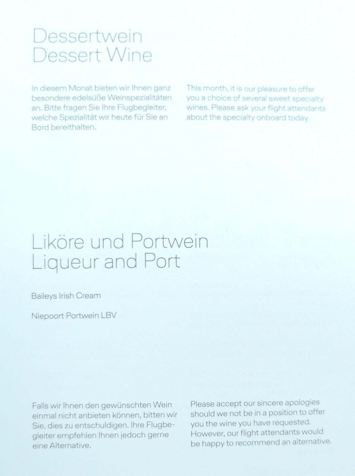Dessert wine and port