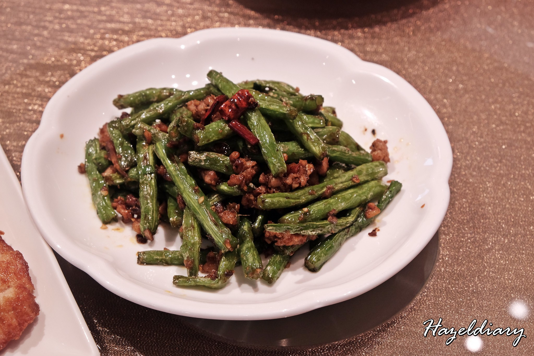 Paradise Dynasty Suntec City Outlet-Stir-fried long bean