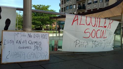 Alquiler social para María José YA!