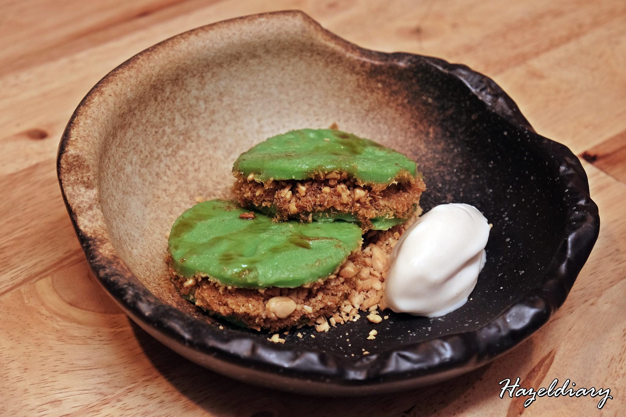 The Sampan Restaurant-Pandan Dessert