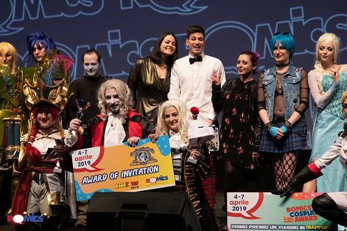 Romics Cosplay Award aprile 2019 - Premiazione