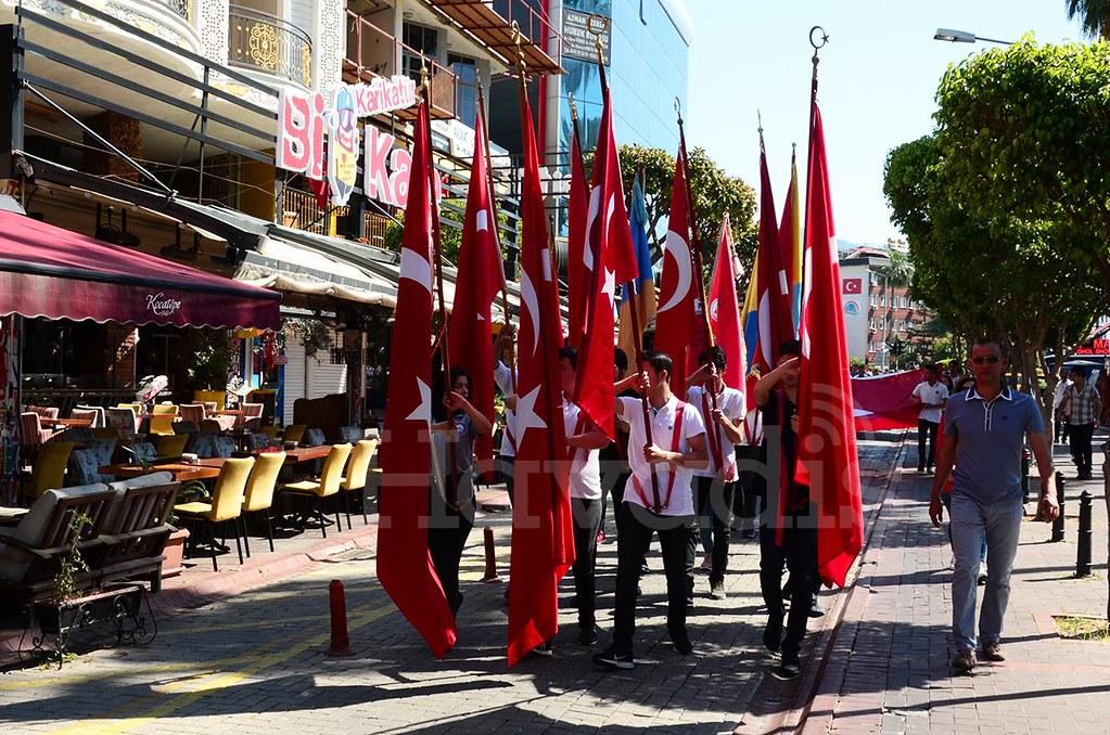 Gençlik Haftası Alanya'da kutlanıyor