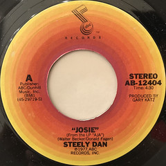 STEELY DAN:JOSIE(LABEL SIDE-A)