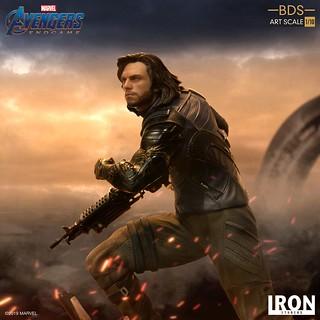 Iron Studios Battle Diorama 系列《復仇者聯盟:終局之戰》酷寒戰士 Winter Soldier 1/10 比例決鬥場景雕像作品