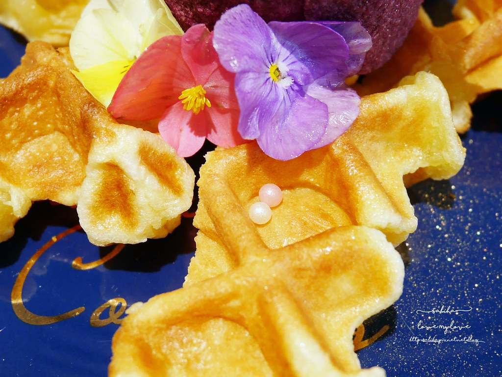新北板橋Chic Chic夢幻咖啡廳下午茶浮誇系甜點冰品ig打卡美食  (3)