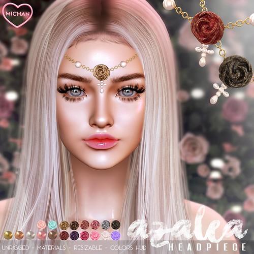 Azalea Headpiece @ Flora