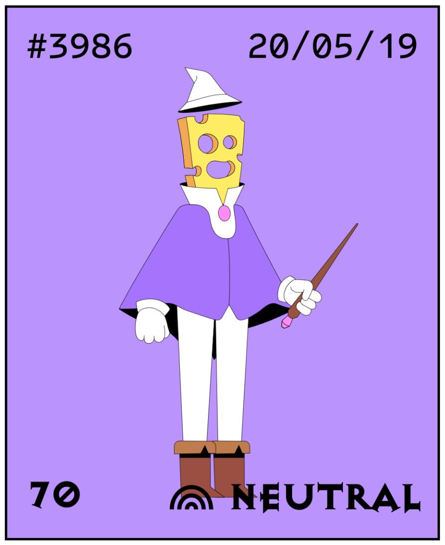 My neutral cheese wizard.