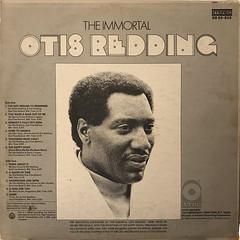 OTIS REDDING:THE IMMORTAL OTIS REDDING(JACKET B)