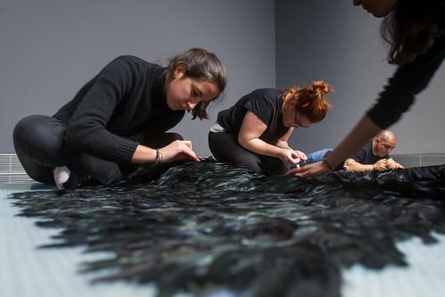 """Museo Lab. El montaje de """"El no retorno"""" de Cecilia Paredes"""
