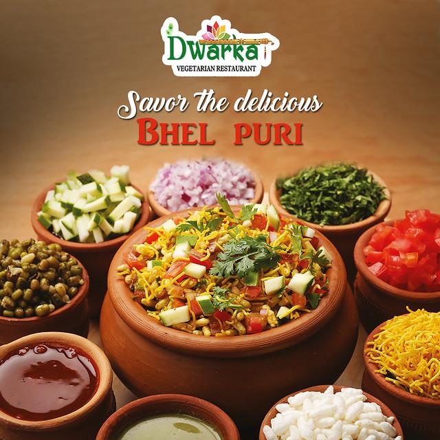 bhel puri from Dwarka Vegetarian