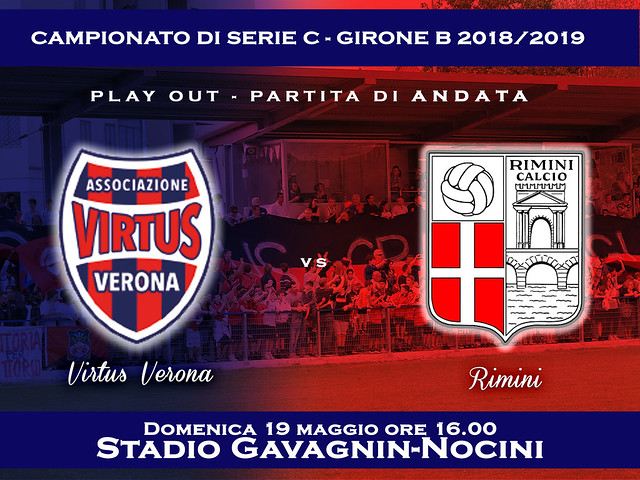 PLAY OUT Virtus Verona - Rimini 1-0