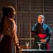 3. Leah Walker as Julia and George Costigan as The Cardinal. Photo credit Mihaela Bodlovic