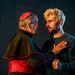 5. (L-R) George Costigan as The Cardinal and Angus Miller as Ferdinand. Photo credit Mihaela Bodlovic