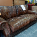 Balmoral 2 seater brown leather E515