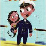 Wed, 2019-05-22 16:03 - An odd one this in that it is not issued by the ferry operators but by the Belgian 'Administration de la Marine' in Brussels/Bruxelles. It details the railway operated ferry and train services. The cover certainly looks friendly enough with a loving look between the pipe smoking officer and the mermaid!