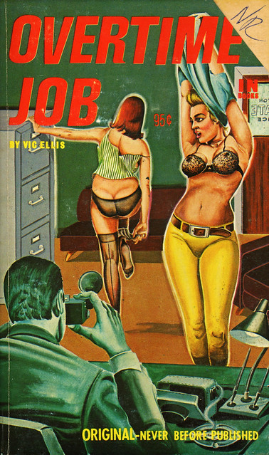 In Library Books 208 - Vic Ellis - Overtime Job