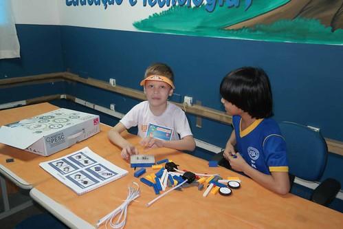 15.05.19.Semed realiza Scratch Day na Escola Municipal Francisca Gomes Mendes.