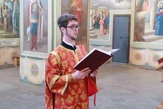 15.05.2019 | Божественная литургия в Иверском монастыре