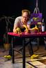 "Foto Thom Monckton: ""The Artist""  (Circo Aereo, Ateneum-hall, Helsinki, Finland)"