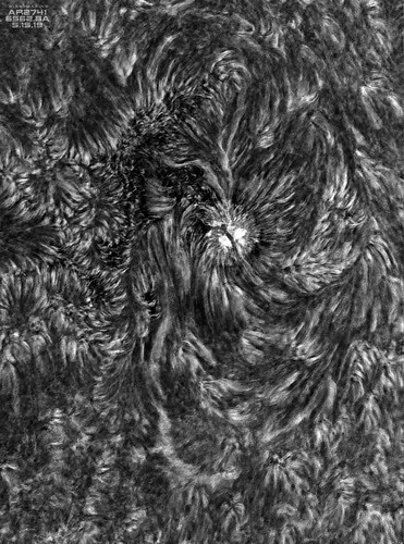 AR2741_HA_200mm_241frames_092311_Inverted_BW_05152019 | by Mwise1023