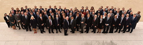 2019 Ministerial Council Meeting of the OECD family photo